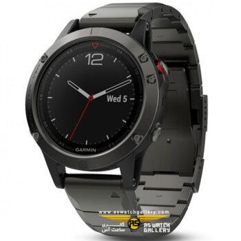 ساعت مچی گارمین مدل fenix5 metal
