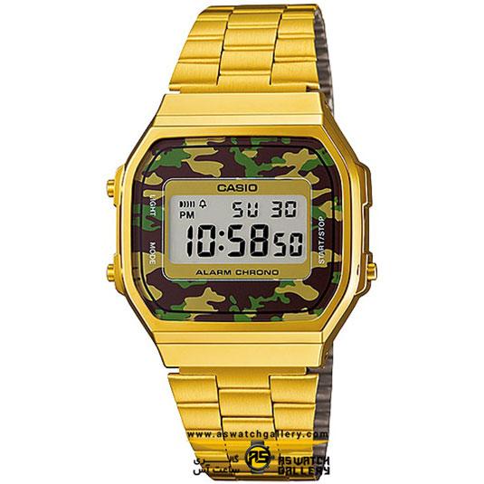 ساعت مچی کاسیو مدل a168wegc-3df