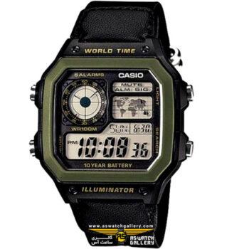 ساعت کاسیو مدل AE-1200WHB-1BVDF