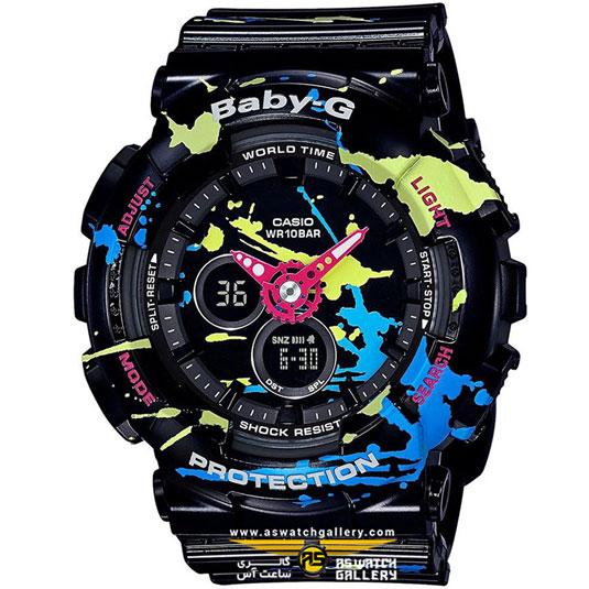 ساعت کاسیو مدل ba-120spl-1adr