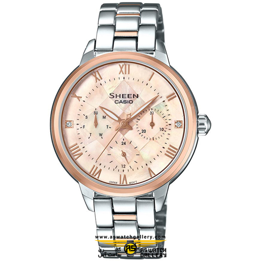 ساعت کاسیو مدل she-3055spg-4audr