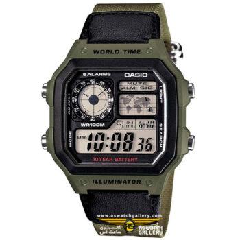 ساعت کاسیو مدل AE-1200WHB-3BVDF
