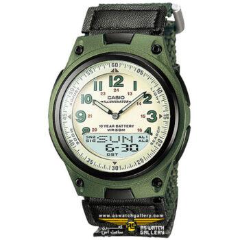 ساعت کاسیو مدل AW-80V-3BVDF
