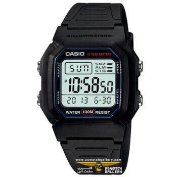 ساعت کاسیو مدل W-800H-1AVDF