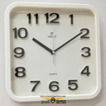 ساعت دیواری ویولت مدل ws19718bp-b