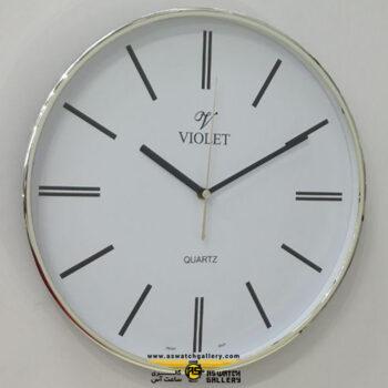 ساعت دیواری ویولت مدل WS19721G-B