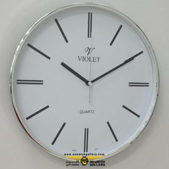 ساعت دیواری ویولت مدل WS19721S-B