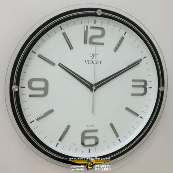 ساعت دیواری ویولت مدل ws19725-1s
