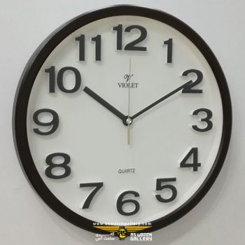ساعت دیواری ویولت مدل ws19737ap-b