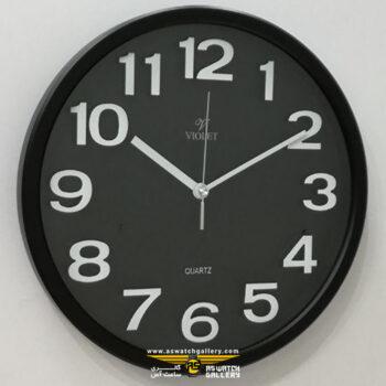ساعت دیواری ویولت مدل ws19737cp-c