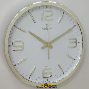 ساعت دیواری ویولت مدل ws19738g-b