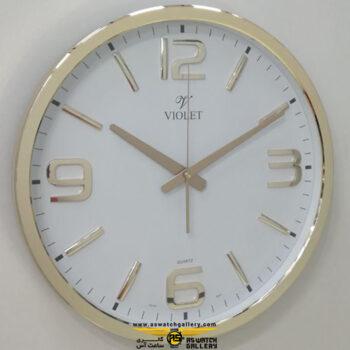 ساعت دیواری ویولت مدل ws19738r-b