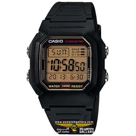 ساعت کاسیو مدل W-800HG-9AVDF
