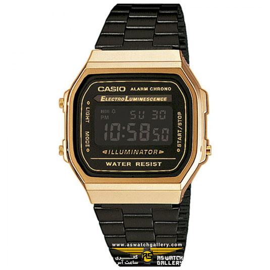 ساعت کاسیو مدل A168WEGB-1BDF