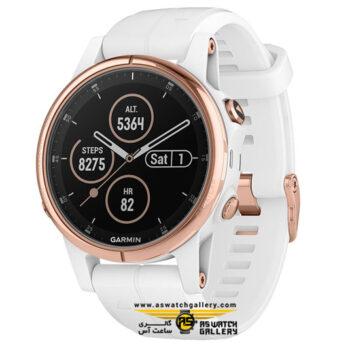 ساعت گارمین مدل FENIX 5S PLUS ROSEGOLD