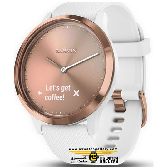 ساعت گارمین مدل VIVOMOVE HR ROSE GOLD