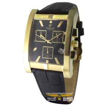 ساعت ویولت مدل 0142G-2LEATHER