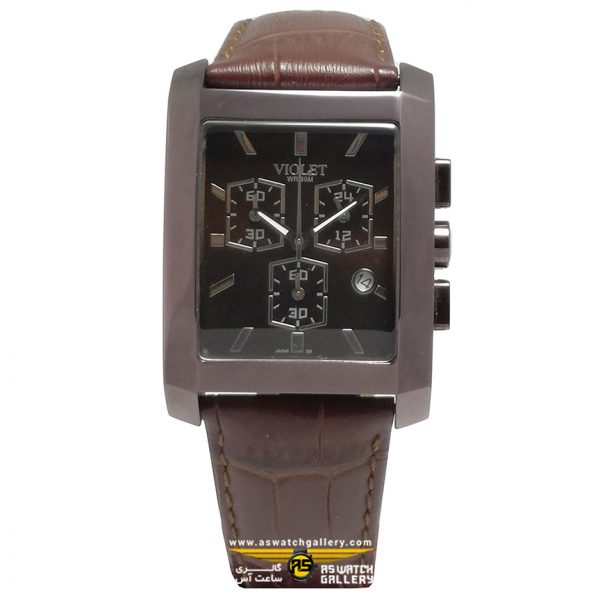 ساعت ویولت مدل 0160G-2LEATHER
