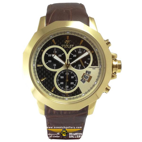 ساعت ویولت مدل 0172G-2LEATHER