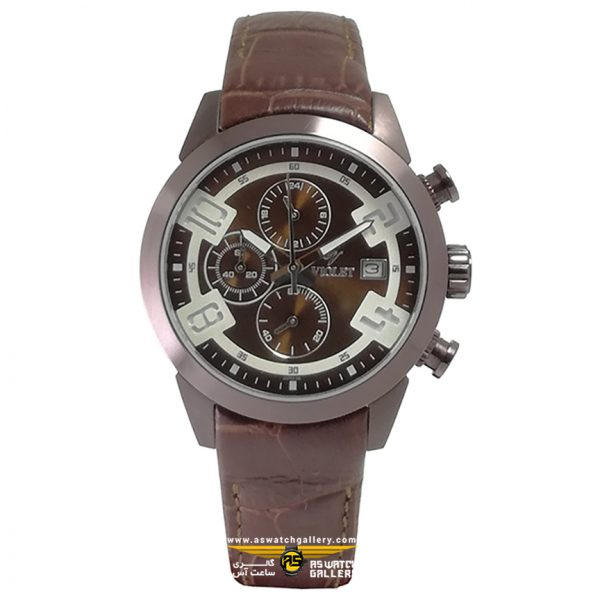 ساعت ویولت مدل 0268L-2LEATHER