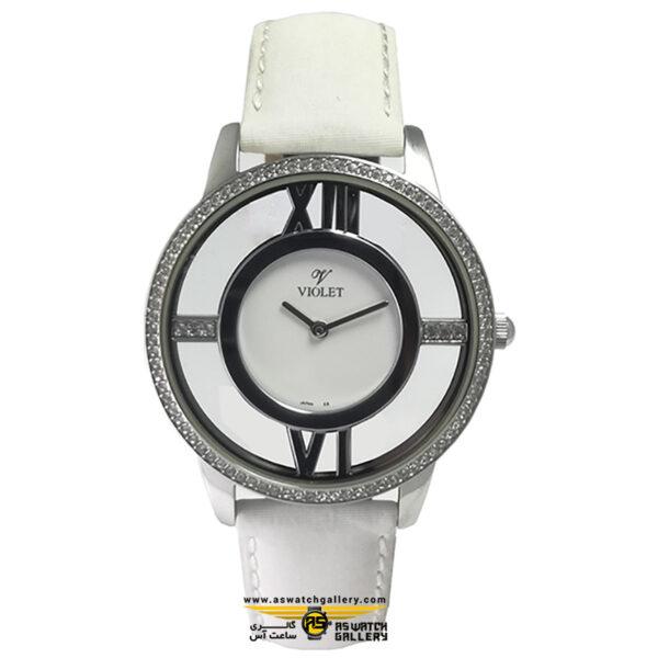 ساعت ویولت مدل 12365L-1LEATHER