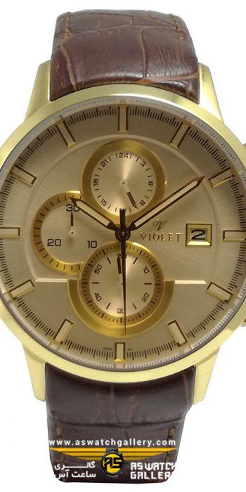 ساعت مچی ویولت مدل S0323G-2LEATHER
