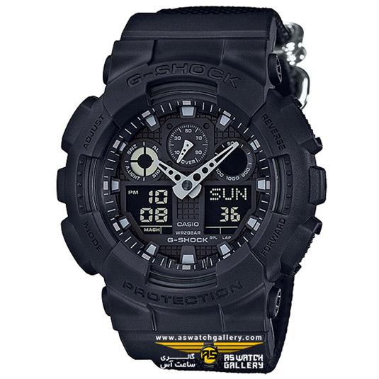 ساعت کاسیو مدل ga-100bbn-1adr