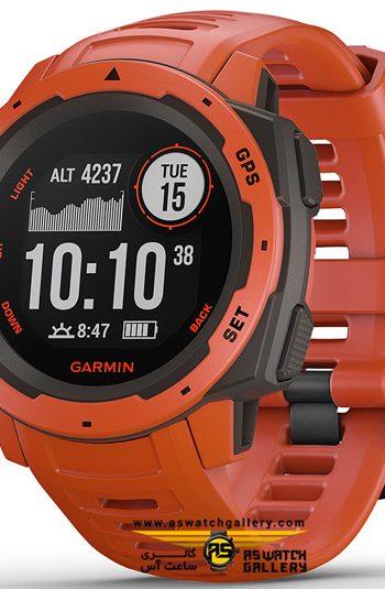 ساعت گارمین مدل INSTINCT WITH RED BAND