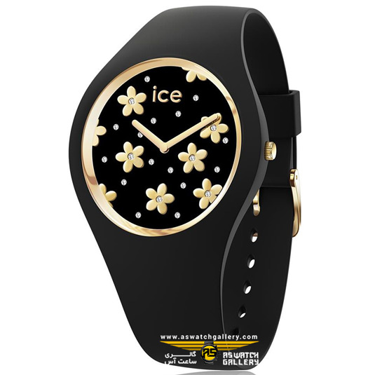 ساعت آیس مدل ICE FLOWER-PRECIOUS BLACK-SMALL (2H)