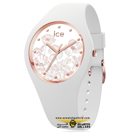ساعت آیس مدل (ICE FLOWER-SPRING WHITE-SMALL (3H