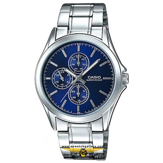 ساعت کاسیو مردانه مدل MTP-V302D-2AUDF