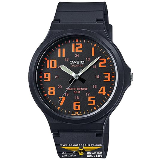 ساعت کاسیو مدل MW-240-4BVDF