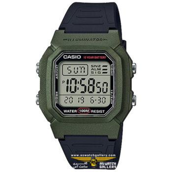ساعت کاسیو دیجیتالی مدل W-800HM-3AVDF
