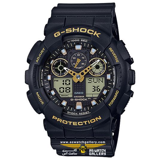 ساعت کاسیو جی شاک مدل GA-100GBX-1A9DR
