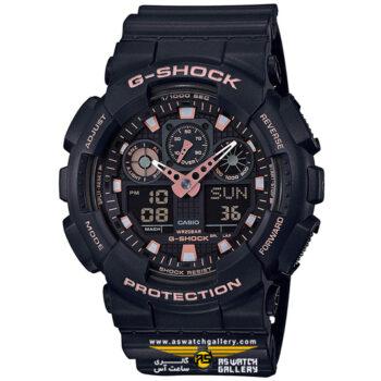 ساعت کاسیو جی شاک مدل GA-100GBX-1A4DR