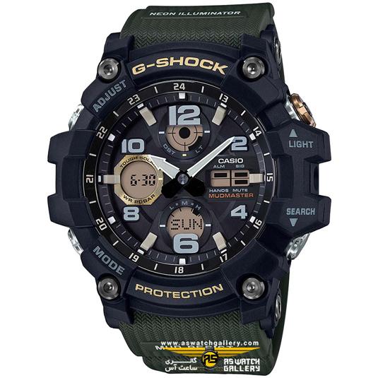 ساعت جی شاک مدل GSG-100-1A3DR