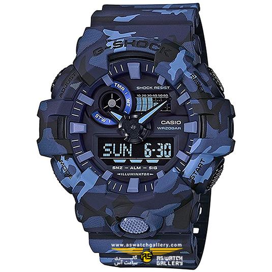 ساعت جی شاک مدل GA-700CM-2ADR