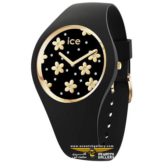 ساعت آیس واچ ICE FLOWER-PRECIOUS BLACK-SMALL